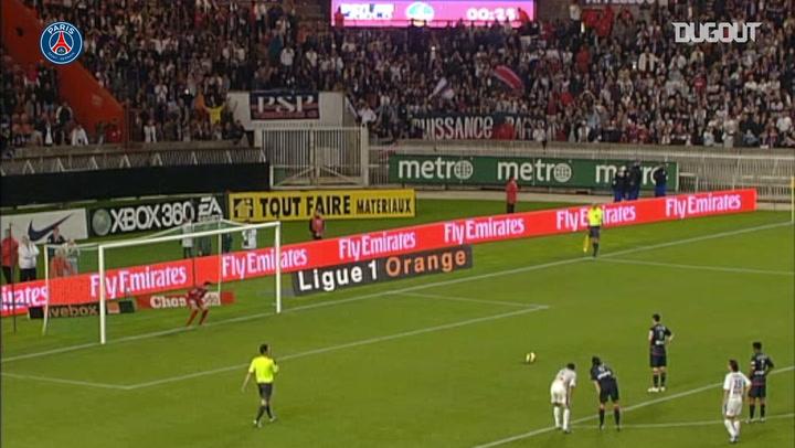 Pauleta's brace vs Troyes in 2007