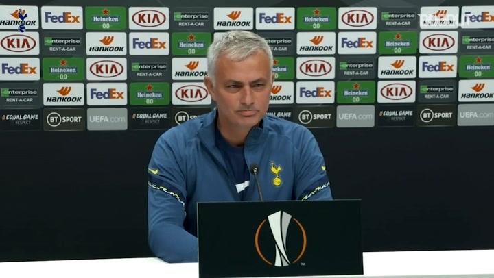 Mourinho refuses to reveal starting XI vs LASK