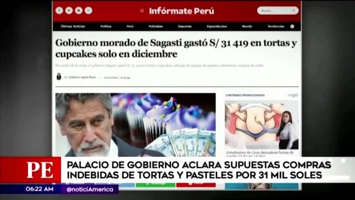 Ejecutivo rechaza que gestión de Francisco Sagasti haya realizado compras indebidas