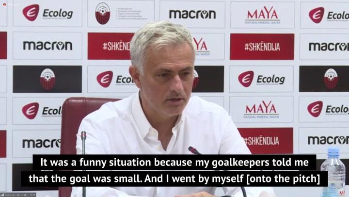 Mourinho reveals bizarre goalpost error following Tottenham win