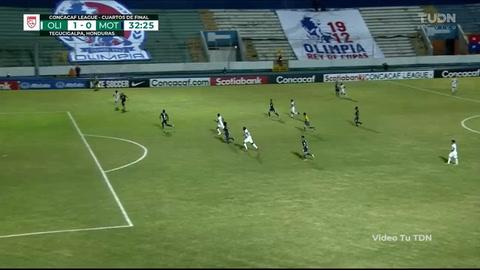 Gol de Maylor Núñez al Motagua (Liga Concacaf)