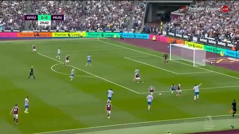West Ham 1-2 Manchester United (Premier League )