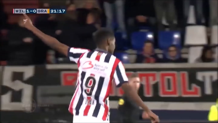 Así juega Alexander Isak del Willem II
