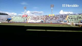 Así se encuentra el Estadio Nacional para el duelo entre Olimpia y Lobos