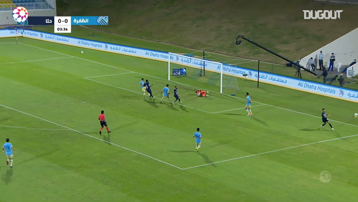 Highlights: Al-Dhafra 1-0 Hatta