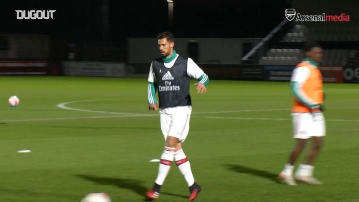 Pablo Mari's debut in Arsenal U23 clash against Chelsea