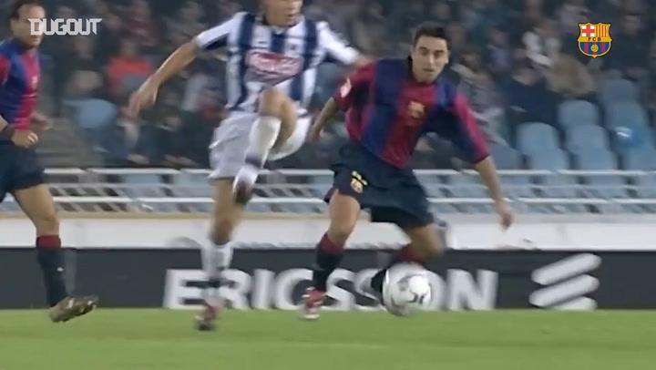 Xavi Hernández's Best Barça Skills