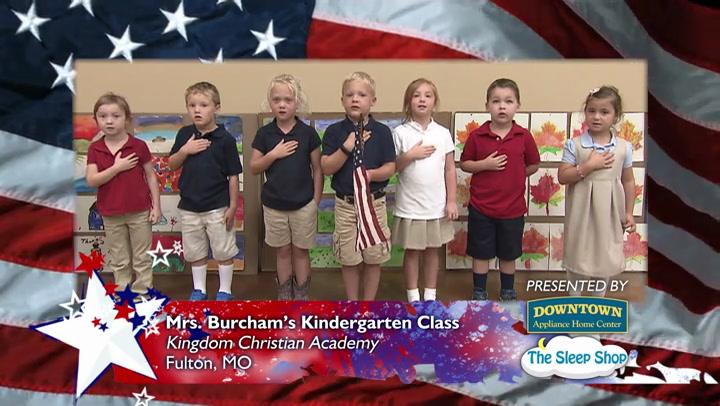 Kingdom Christian Academy - Mrs. Burcham - Kindergarten