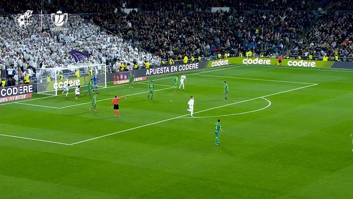 Copa del Rey: Real Madrid-Real Sociedad. Gol de Rodrygo (2-4)