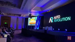 Apple co-founder Steve Wozniak speaks at Las Vegas conference