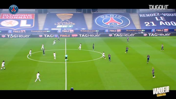 PSG Lig Kupası Finali'nde Lyon'u Mağlup Etti
