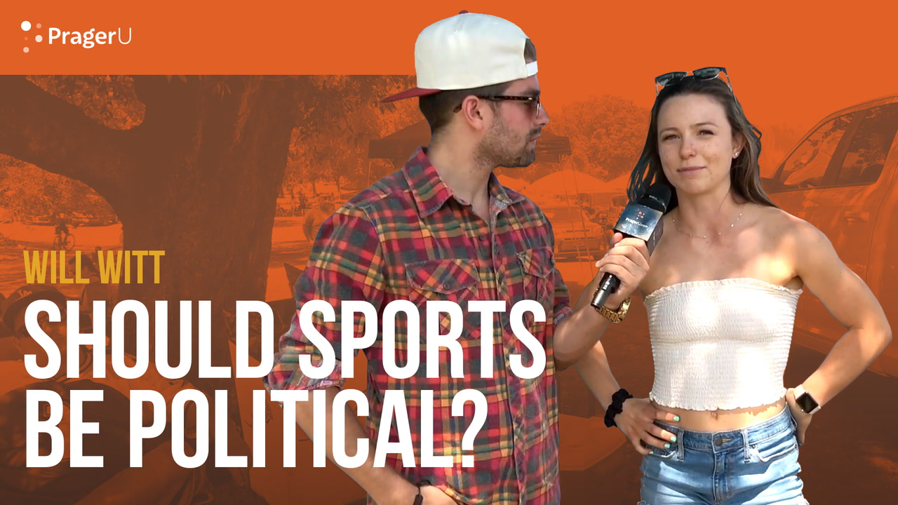 Should Sports Be Political?