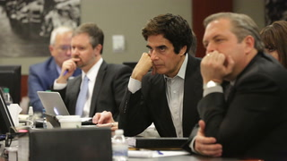 David Copperfield in court after man injured during magic trick