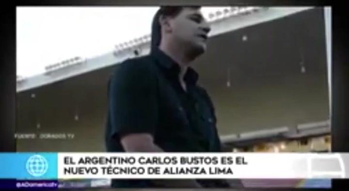 Carlos Bustos será el nuevo entrenador de Alianza Lima
