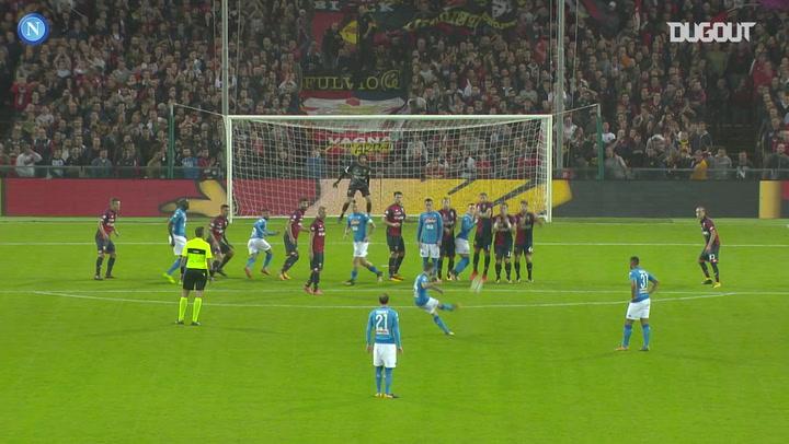 Dries Mertens' incredible double against Genoa
