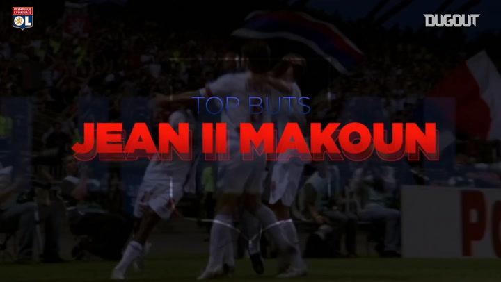 Jean II Makoun's best five goals with Olympique Lyonnais