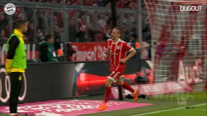 Incredible Goals: Franck Ribéry Vs Dortmund