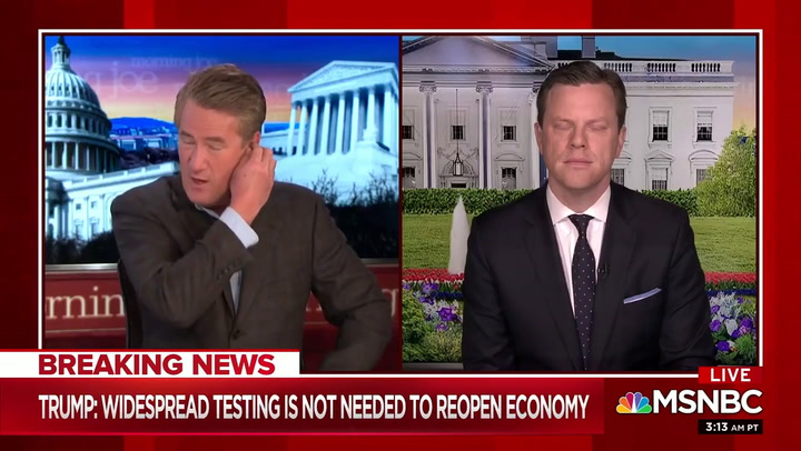Scarborough: Trump Hypocritical for Wanting to Reopen Economy