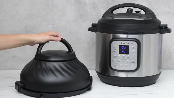 Preview image of Instant Pot Duo Crisp Smart Cooker & Airfryer, 8L video
