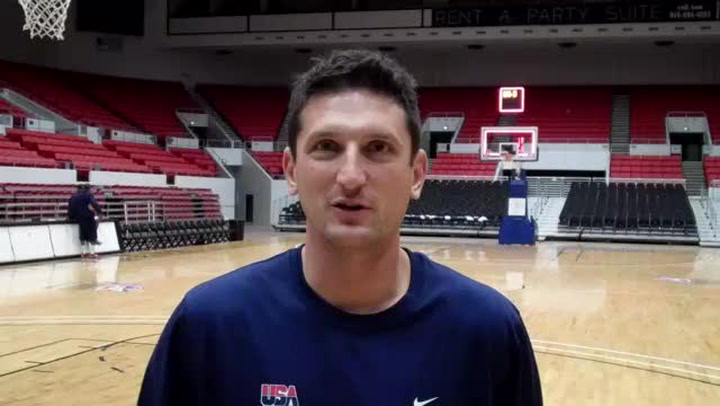 USA Head Coach Nate Tibbetts