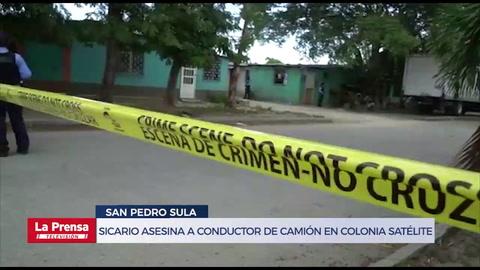 Sicario asesina a conductor de camión en colonia Satélite