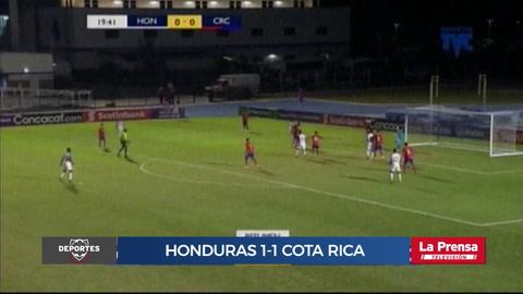 Honduras 1-1 Costa Rica