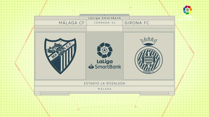 LaLiga Smartbank (Jornada 36): Málaga 2-0 girona