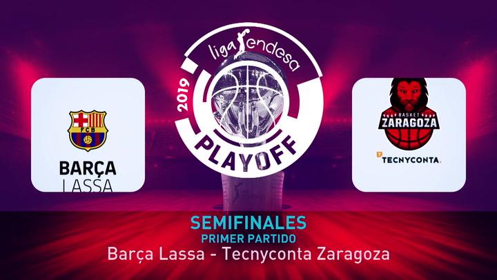 Calendario Tecnyconta.Liga Endesa El Barca Lassa Pasa Por Encima Del Tecnyconta Zaragoza