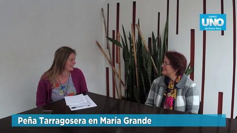 Este domingo María Grande vive la Gran Peña Tarragosera