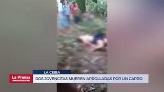 Dos jovencitas mueren arrolladas por un carro en La Ceiba