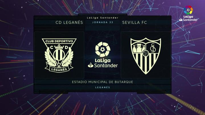 LaLiga Santander (J.33): Leganés 0-3 Sevilla