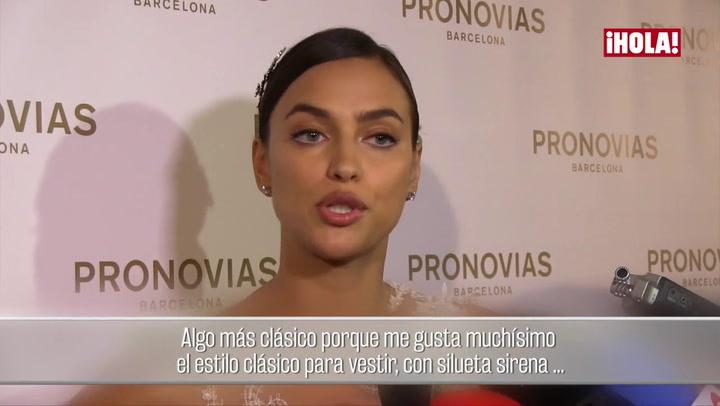 Irina Shayk: \'Para llevarme al altar un hombre ha de ser inteligente, educado, divertido...\'