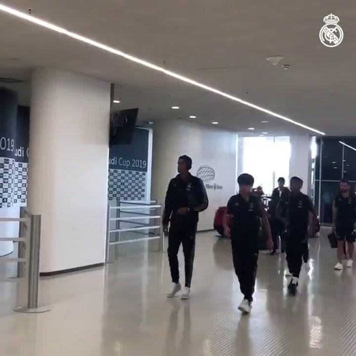 El Real Madrid ya está en el Allianz Arena