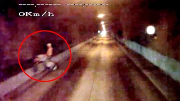 Filmet farlig sexlek i tunnel