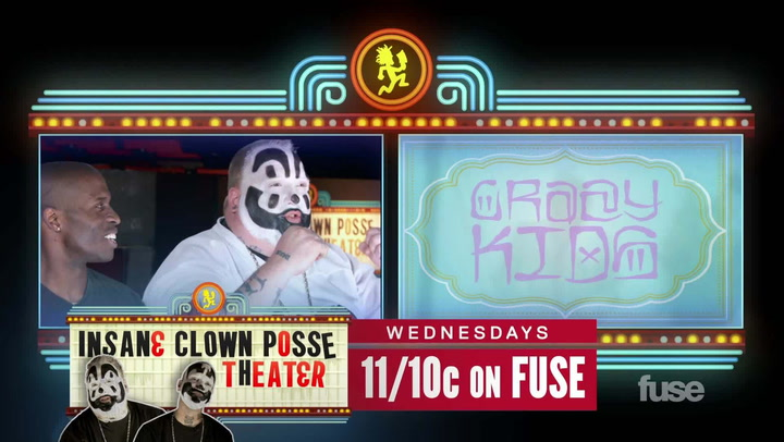 "Shows: ICP Theater: Insane Clown Posse on ""Crazy Kids"" by Kesha"