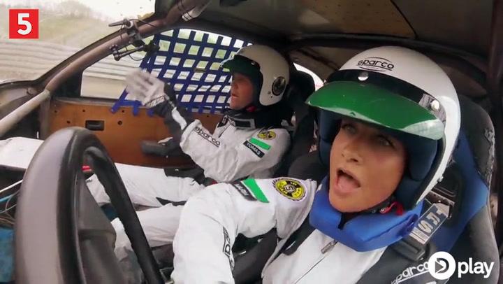 Kendte danskere viser deres utrolige køreevner