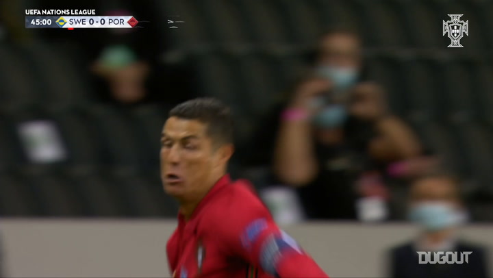 Cristiano Ronaldo nets 100th Portugal goal in Nations League