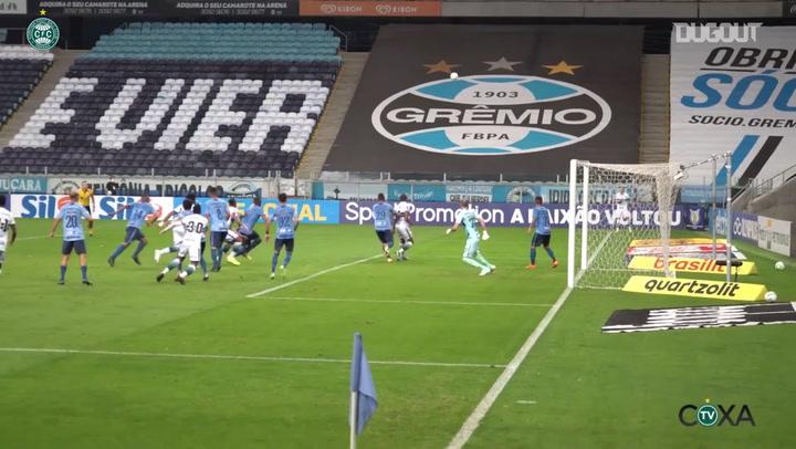 Natanael's goal against Grêmio
