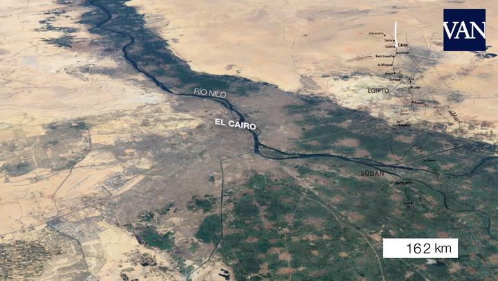 La Gran Presa del Renacimiento, el megaproyecto etíope que lleva la discordia sobre el Nilo a África