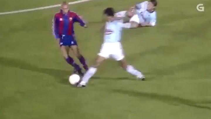 Ronaldo escoge su mejor gol : uno con el Barça