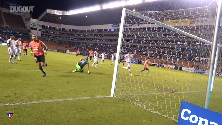When Liga de Quito recreated Messi's indirect penalty