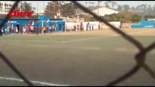 Agreden al entrenador Mauro Reyes, en la Liga de Ascenso tras derrota
