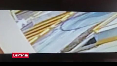 Taxi embiste a motociclista en Bulevar del Sur en San Pedro Sula