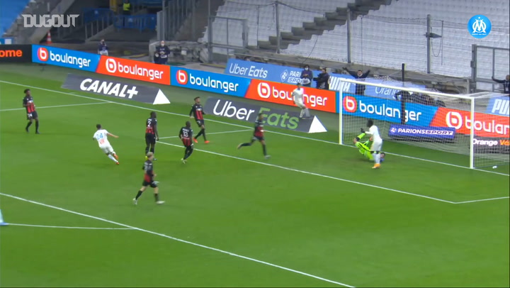 Luis Henrique's first assists with Marseille