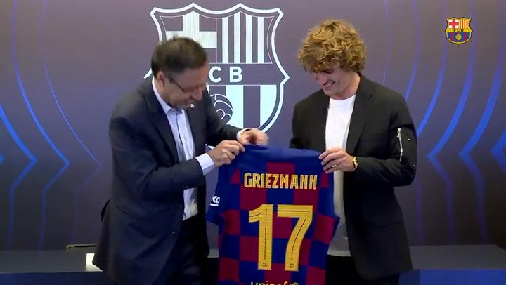 ¡Griezmann lucirá el dorsal 17!