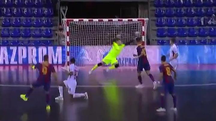 Sergio Lozano, mejor gol de la Final Four de la Champions