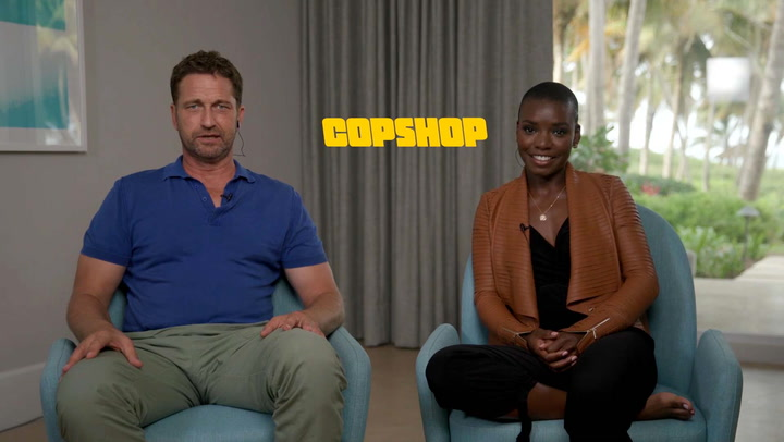 'Copshop' Interviews