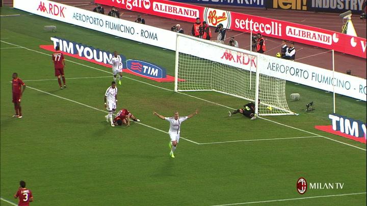 AS Roma vs AC Milan: our Top 5 goals