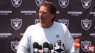Raiders Look Forward to First Practice with Pads on Sunday