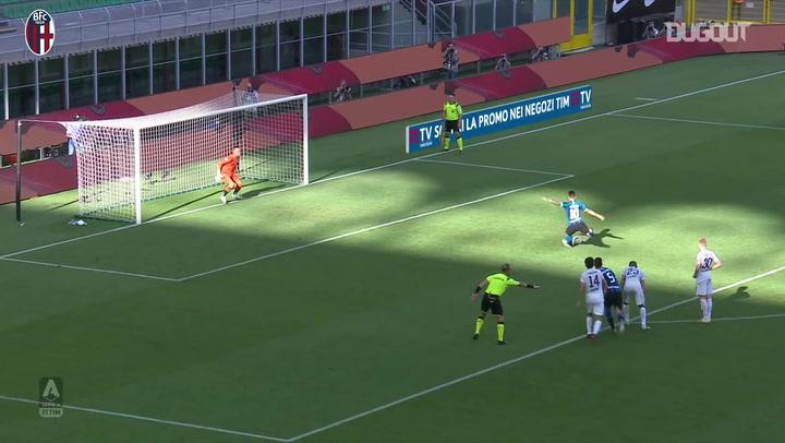 Lukasz Skorupski's saves Vs Inter